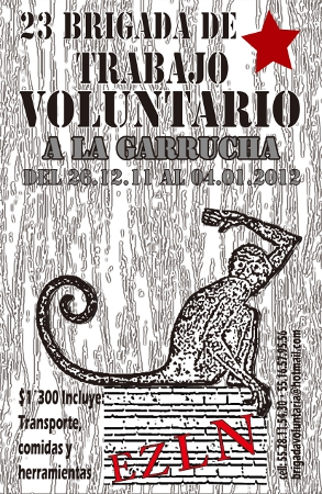 Brigada de trabajo voluntario al caracol iii la garrucha - Trabajo en garrucha ...