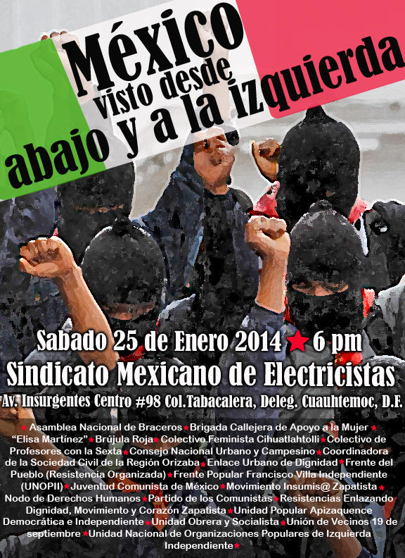 A 20 años de la insurrección zapatista ¿Cómo se ve el país desde abajo y a la izquierda?