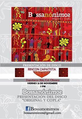 Invitación Rincón Zapatista 21 nov