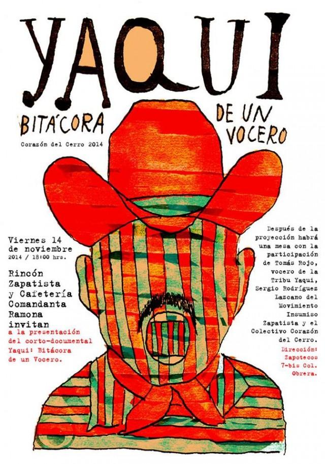 presentación video Yaqui Rincon