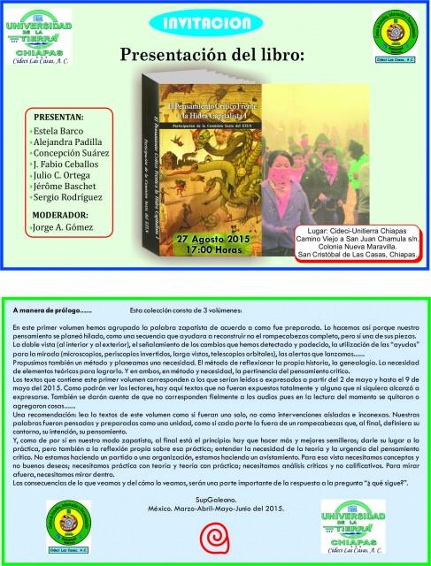 invitación-Presentación libro- 27-08-2015