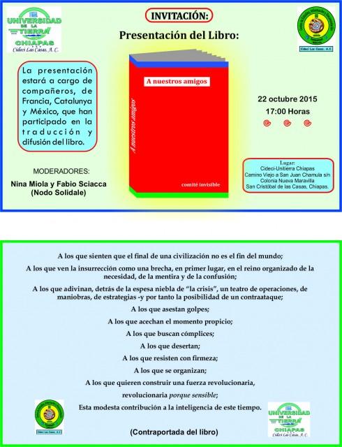Invitación 22-10-2015