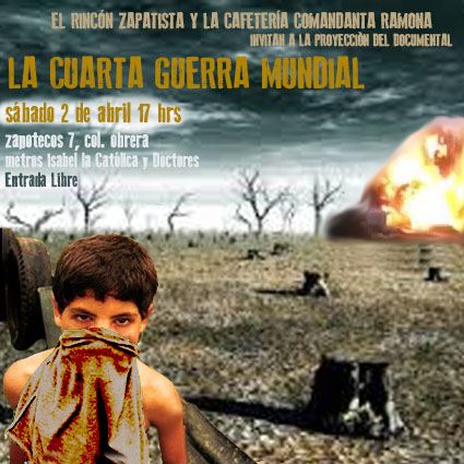 El Rincón Zapatista y la Cafetería Comandanta Ramona invitan ...