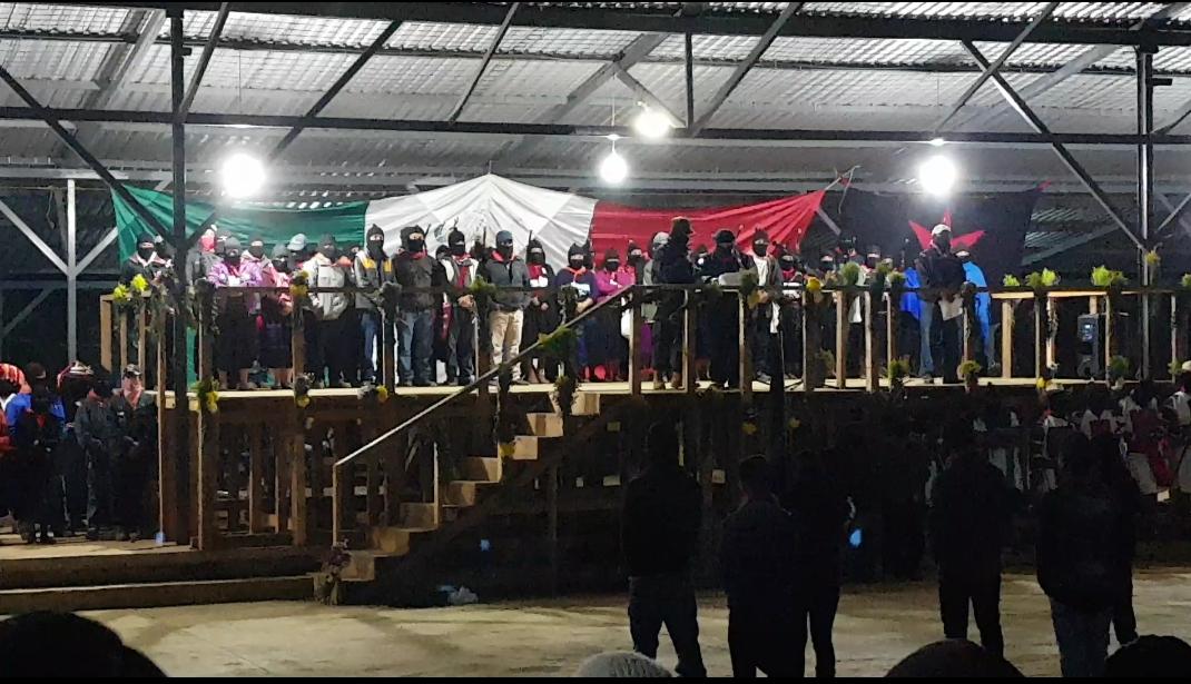Palabras del Comité Clandestino Revolucionario Indígena-Comandancia General del Ejército Zapatista de Liberación Nacional, el 1 de enero del 2018. 24 Aniversario del inicio de la guerra contra el olvido.