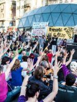 Asamblea 17_Mayo_2014 Sol grito  mudo homenaje Galeano y zapatistas
