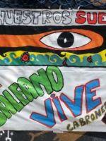 Mural homenaje Galeano y  zapatistas 18_Mayo_2014 Jornadas15M