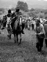 bases apoyo corriendo con caballos